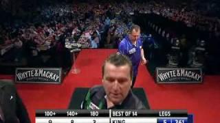 Mervyn King vs. Ronnie Baxter - Week 3 - 2010 Premier League - Part 4