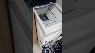 은행 동전 자동 포장 동전교환기