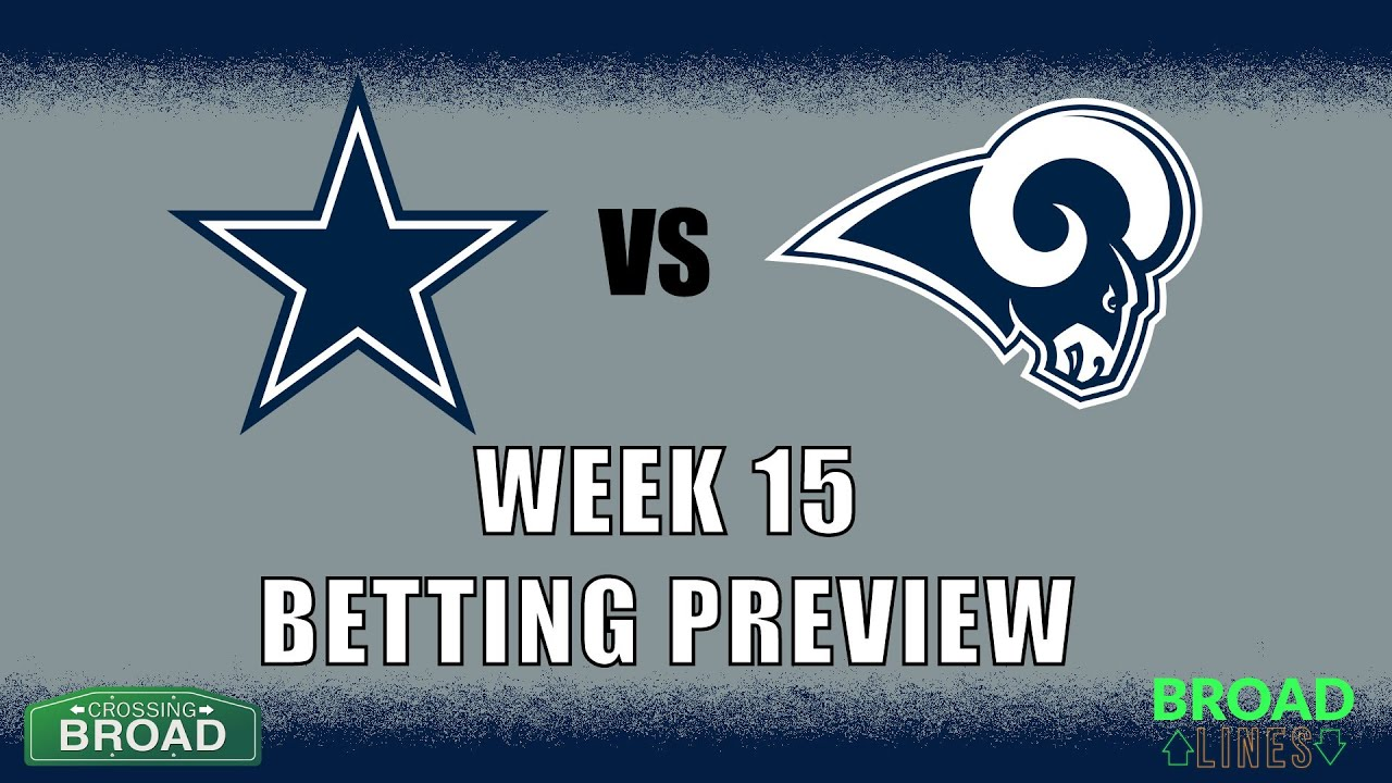 Rams vs Cowboys: Betting Line, Odds, & Prediction