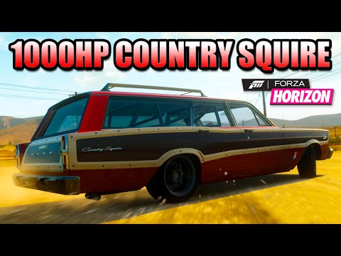 FH1 - 1000HP FORD COUNTRY SQUIRE - Return To Colorado, New Logo!