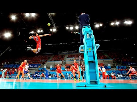TOP 10 Monsters of the Vertical Jump | Volleyball (HD) Mp3
