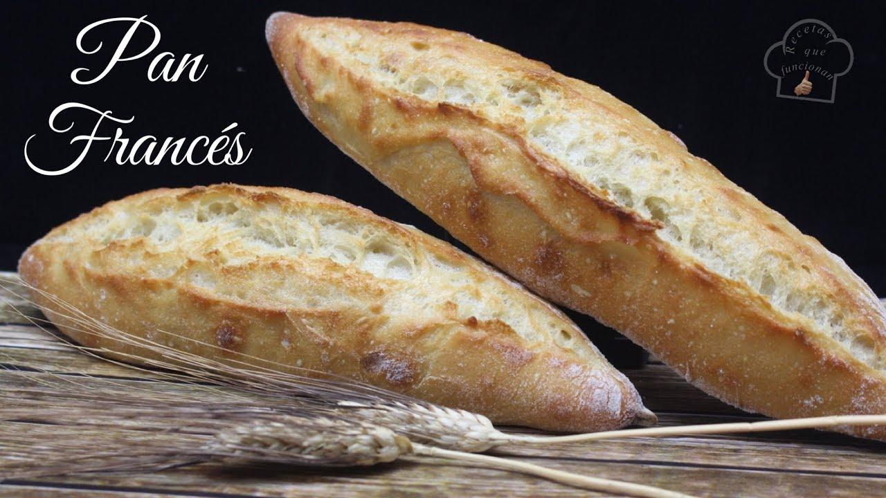 receta del pan de barra