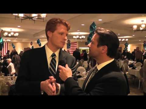 Rep. Joe Kennedy Jefferson Jackson Day Interview 2015