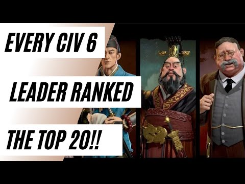 (Civ 6) The Top 20 Civs In The Game Ranked (Part 4) |
