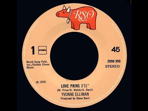Yvonne Elliman ~ Love Pains 1979 Disco Purrfection Version