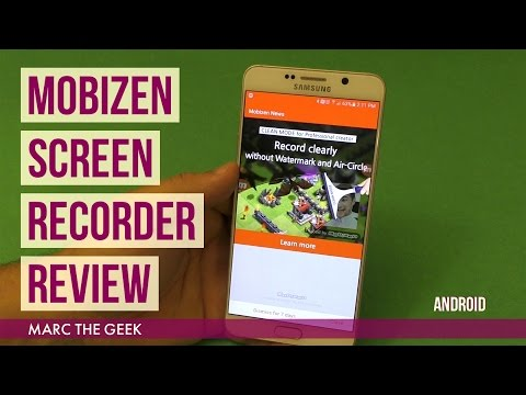Mobizen Screen Recorder For Android Review