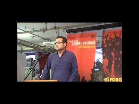 Vijay Prashad @ e5 Jul 7 2011: Arab Spring - Libyan Winter -- I