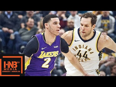 Los Angeles Lakers vs Indiana Pacers Full Game Highlights / March 19 / 2017-18 NBA Season