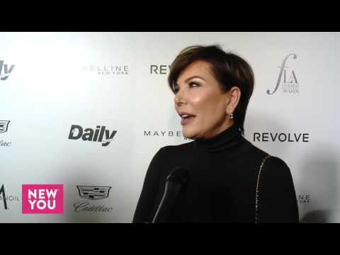 Kris Jenner Interview at The Daily Front Row's Fashion Los Angeles Awards