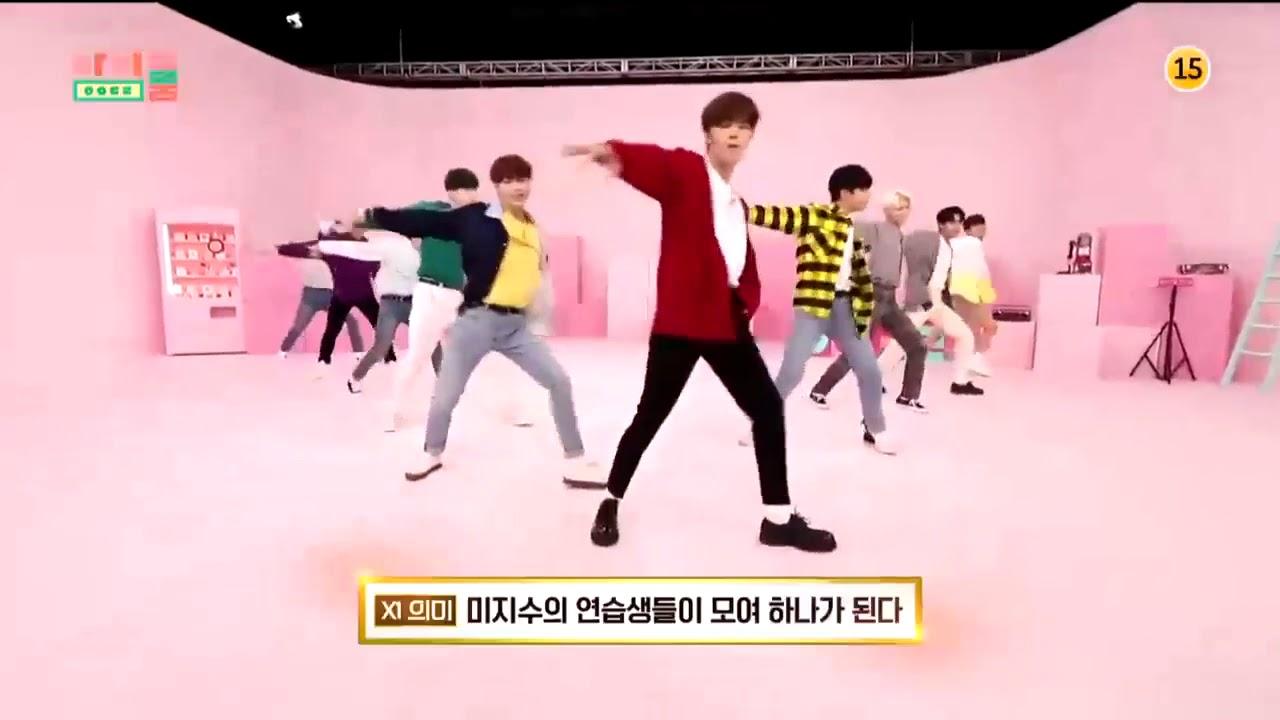 Idol Room Ep 67 X1 Opening danced to XI-MA