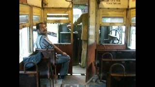 City Trains in Calcutta, India - Calcutta Trams