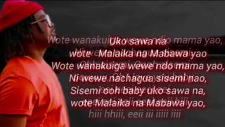 Nyashinski Malaika lyrics