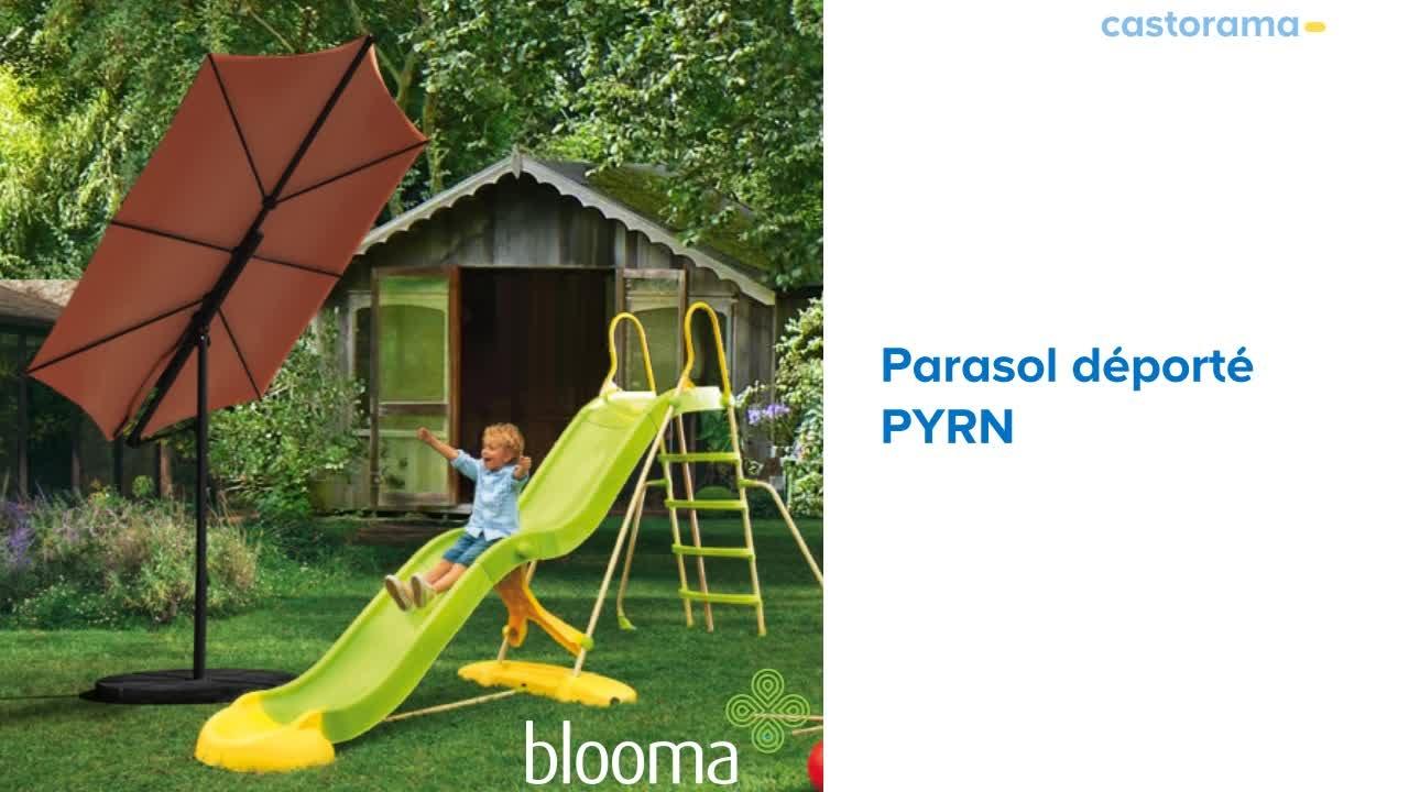 Parasol déporté Pyrn BLOOMA (668263) Castorama   YouTube