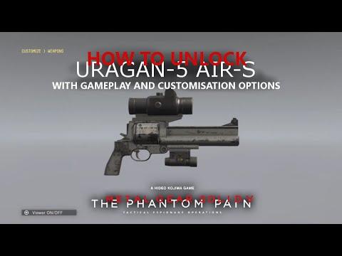 MGSV: TPP - How To Unlock The Uragan-5 Air-S + Gameplay