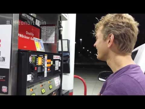 Gas Station Fillup With Bitcoin - #LifeonBitcoin
