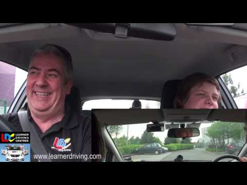 Dean's 2nd driving lesson with Bob