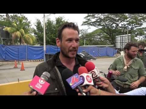 LLEGAN MOTOCICLISTAS INGLESES A NICARAGUA, MULTINOTICIAS