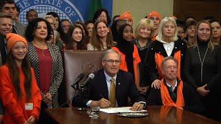 Washington Governor Signs Bump Stock Ban