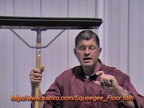 Bronco Floor Squeegee by Dean Brown