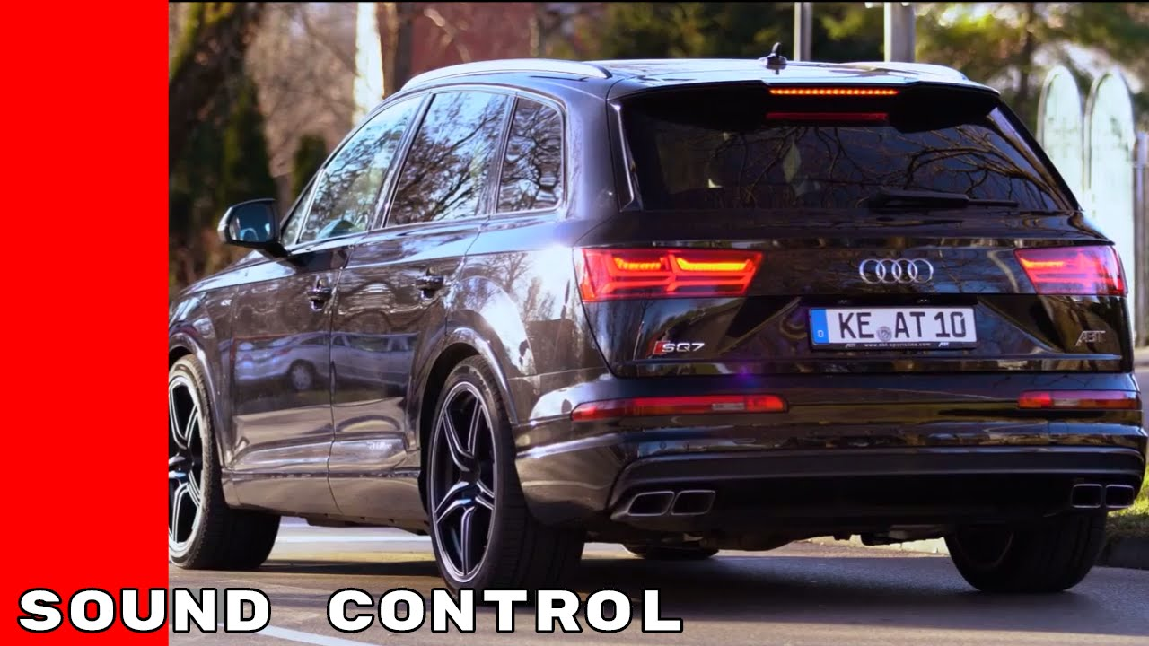 2017 Audi SQ7 ABT Exhaust Sound Control - YouTube