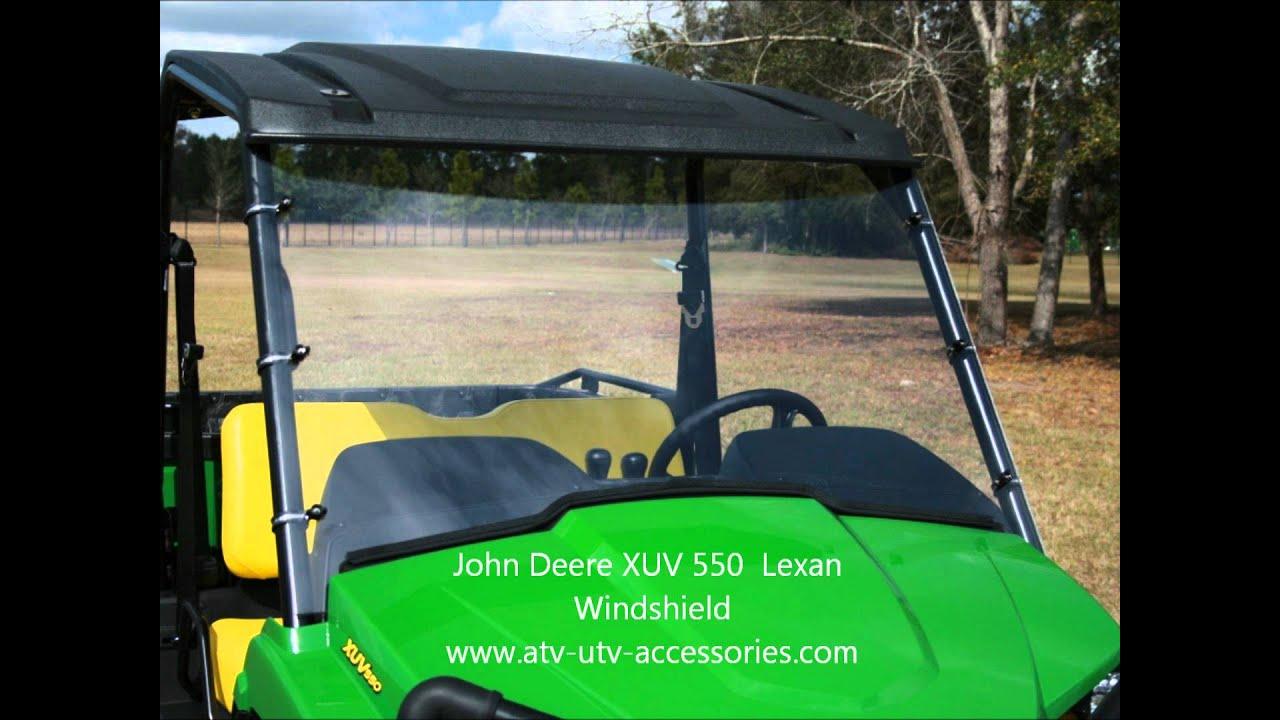 John Deere Gator >> John Deere XUV 550 Windshield - YouTube