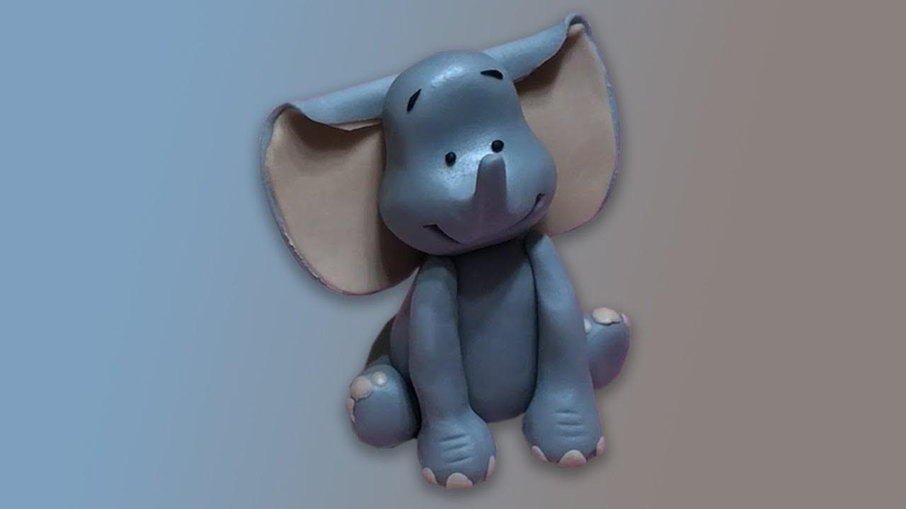 Tatlı Bir Dakika - Şeker hamuru ile Fil modelleme