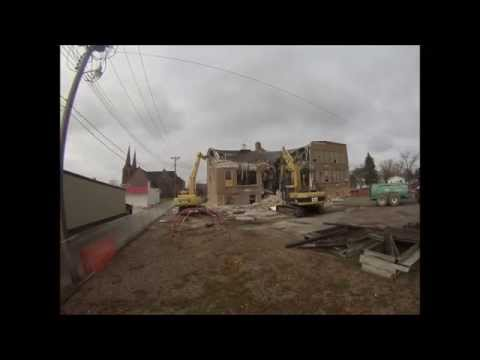 St Johns Elementary School Demolition 10/30/2014