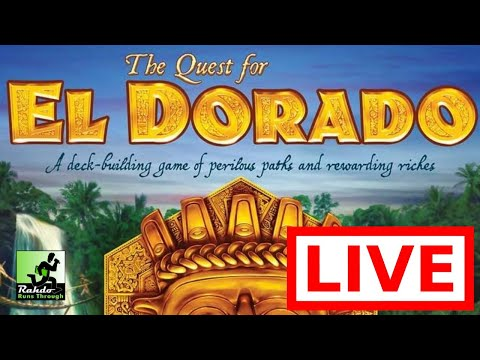RAHDO RUNS THROUGH LIVE #13 (Quest for El Dorado)