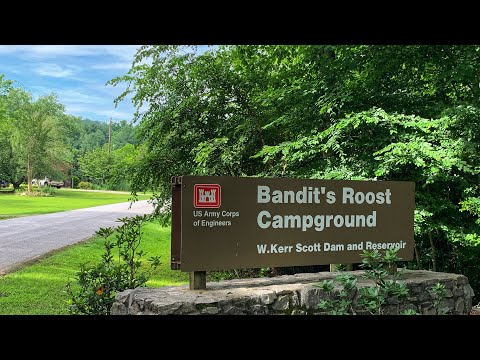 Bandits Roost Campground, Wilkesboro, NC (USACE)