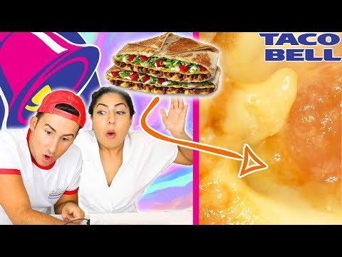 WHAT TACO BELL LOOKS LIKE UNDER A MICROSCOPE! 1000X *GROSS*