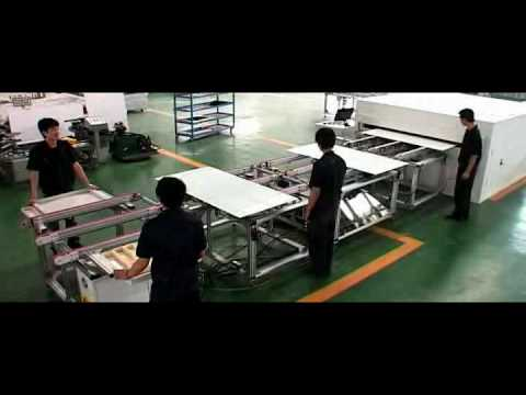 Demo of Solar Panel Packing Equipment  - Heliux Tech Inc.