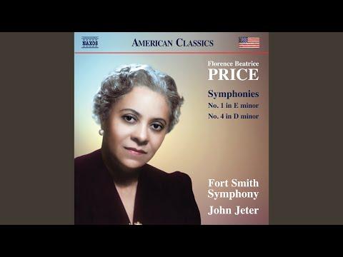 Symphony No. 1 in E Minor: III. Juba Dance