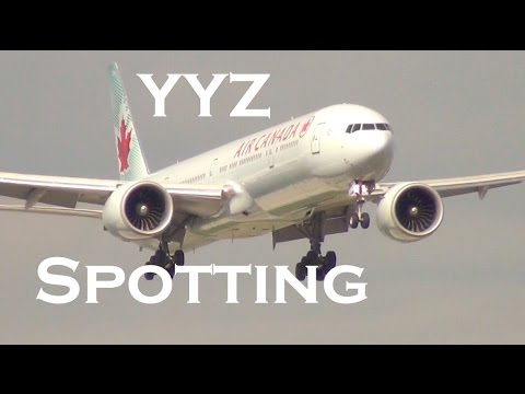 Toronto Pearson International Airport (YYZ)| Short Film/Spotting Compilation (Aviation Tribute)