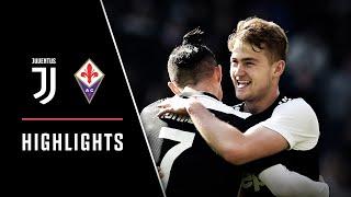 HIGHLIGHTS Juventus vs Fiorentina 3 0 CR7 brace de Ligt s first home goal