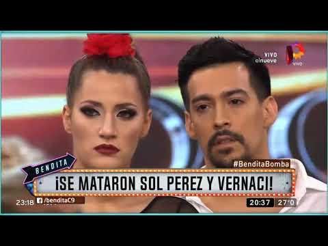 Se mataron Sol Pérez y Vernaci