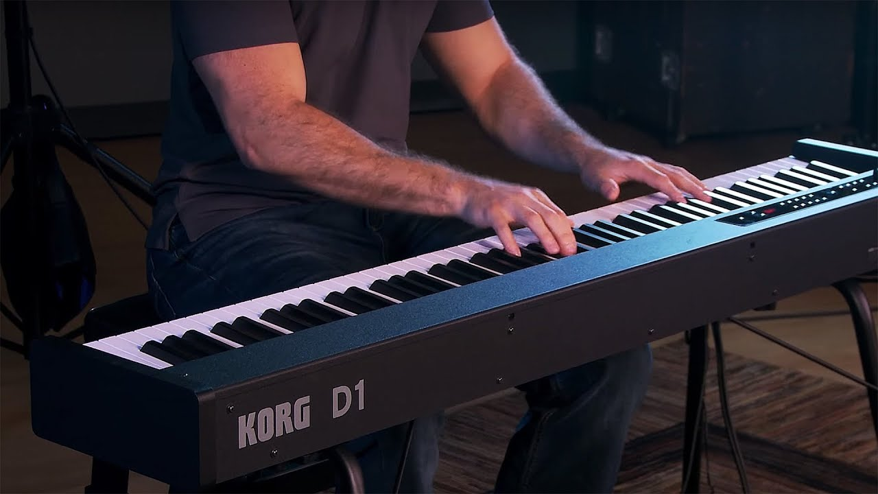 Korg D1 Digital Piano - Save w/ Bundles! | KraftMusic com
