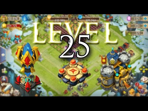 Castle Clash: Level 25 Buildings Podcast!
