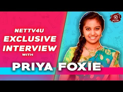 Priya Foxie Imitates Thalapathy Vijay Dialogues | Exclusive Interview | Mazhai Kuruvi