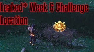 LEAKED* SEARCH BETWEEN A PLAYGROUND, CAMPSITE AND FOOTPRINT| FORTNITE WEEK 6 CHALLENGE