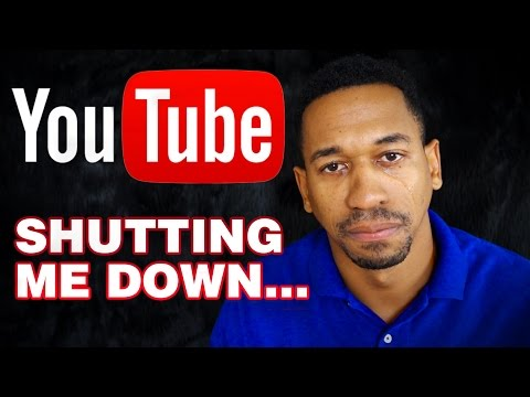 Youtube Is Shutting Down My Channel and Monetization - YouTube