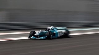 evo Diaries- Harry's 2-Seater F1 passenger ride with Pirelli