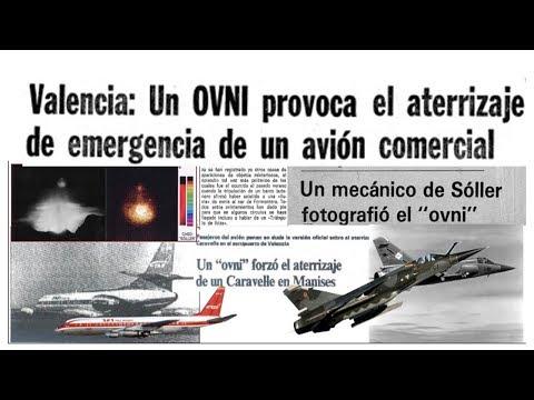 EN VIVO EL OVNI QUE PROVOCO ATERRIZAJE DE AVION COMERCIAL EN MANISES ...