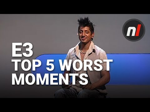 Top 5 Most Embarrassing E3 Moments by Nintendo