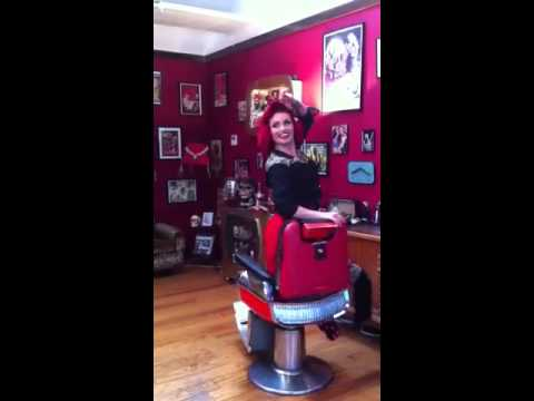 Riding The Barber Chair Youtube
