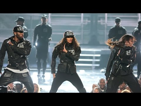 Janet Jackson Epic Dance Tribute at 2015...