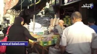 بالفيديو والصور.. أهالي الدقهلية عن ياميش رمضان: «البلح كفاية على أد اللي معانا»
