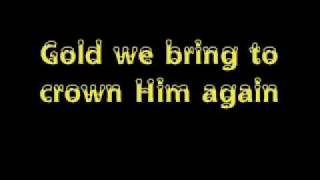 Aly and Aj - We three kings (with lyrics on screen)