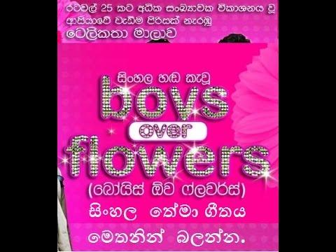 Boys Over Flowers Sinhala Theme song with lyrics (රෑ සිහිනයක් වගේ)
