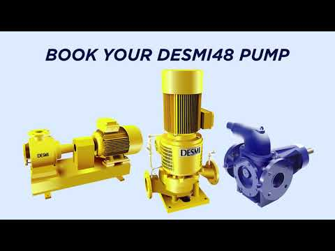 Custom-fit pumps in just 48 hours with DESMI 48
