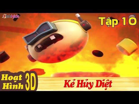Phim Hoạt Hình Hay Nhất 2018 - KẺ HỦY DIỆT - Binh Đoàn Người Máy T-Buster - Phim Hoạt Hình 3D